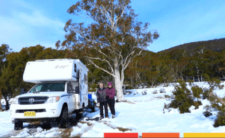 Sue and Bill's home away from home in Perisher